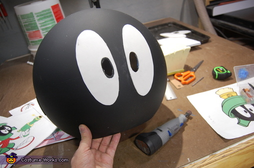 Marvin: Eyes Make Or Break A Costume, Marvin the Martian Costume