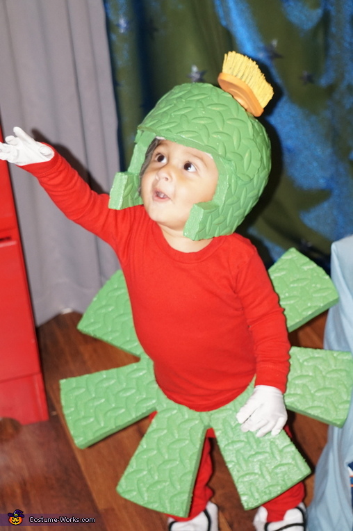 Marvin the Martian Homemade Costume