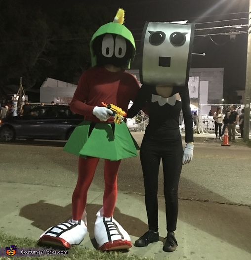 Marvin the Martian and Rosie from the Jetsons Costume