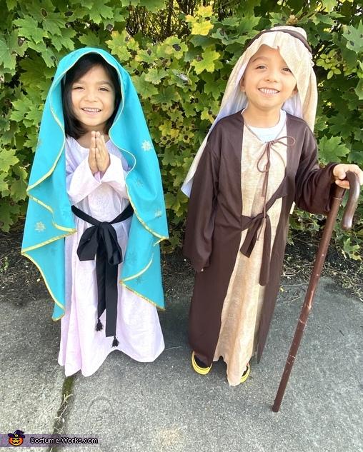 Mary and Joseph Costume