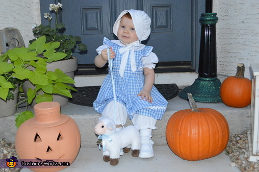 Mary Had a Little Lamb Homemade Costume