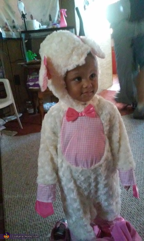 Teyana, Mary Had a Little Lamb Costume