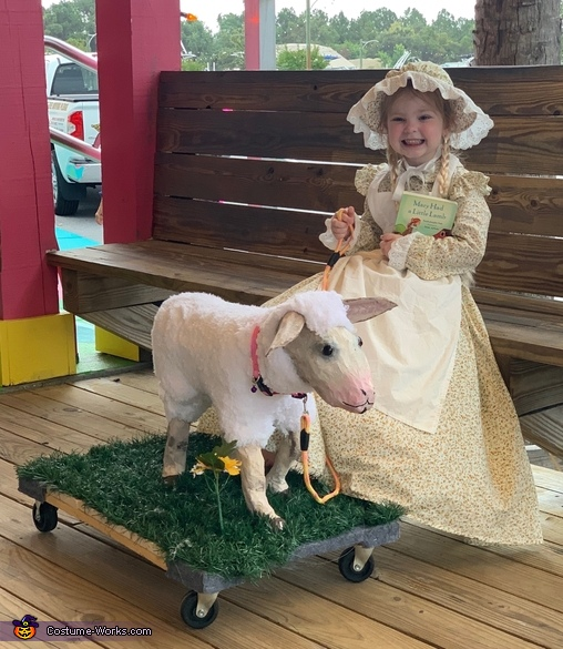 Mary had a Little Lamb named Chelsea Costume