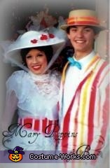 "Mary Poppins and Burt having a ""Jolly Holiday"" :), Mary Poppins Costume"