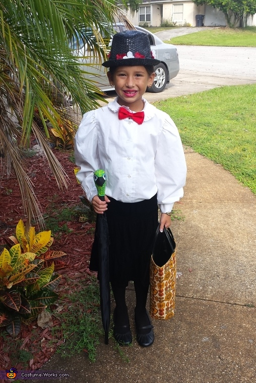 Mary Poppins Girl's Costume DIY