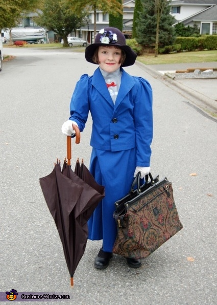 Mary Poppins - Homemade costumes for girls