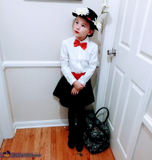 Mary Poppins Homemade Costume