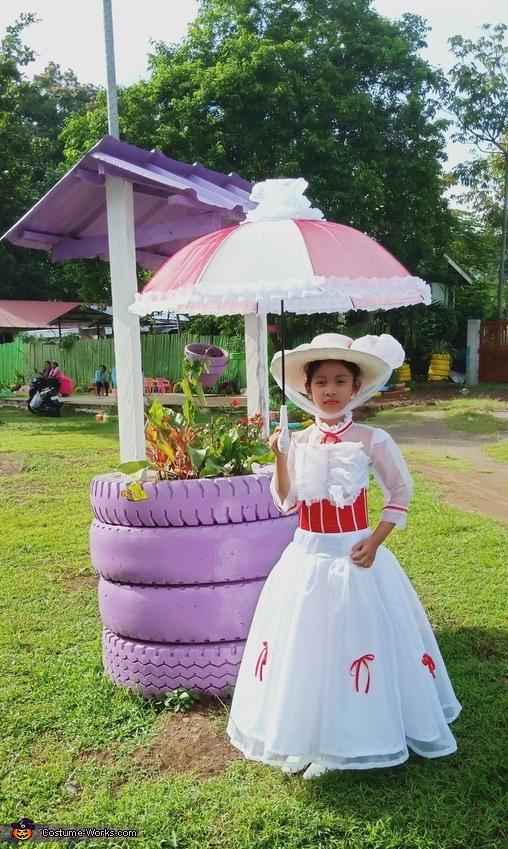 Mary Poppins Homemade Costume