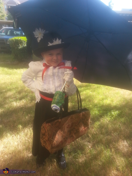 Girl's Mary Poppins Costume