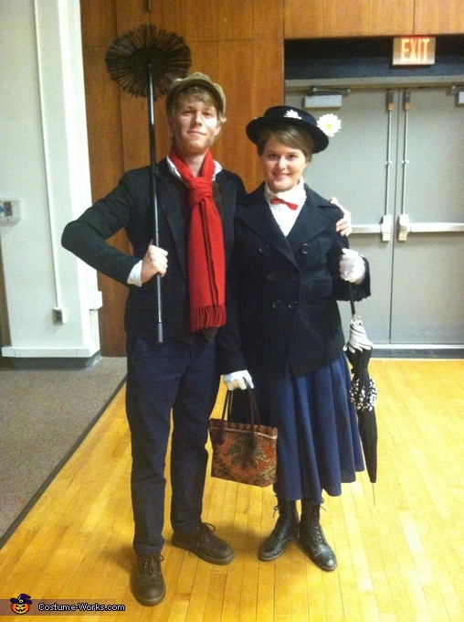 Mary Poppins Couples Costume Mary Poppins And Bert Costume
