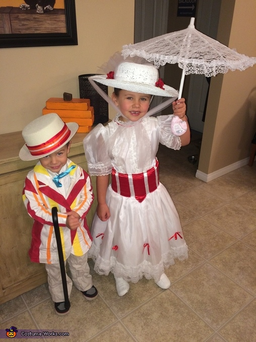 Mary Poppins and Bert Costume DIY