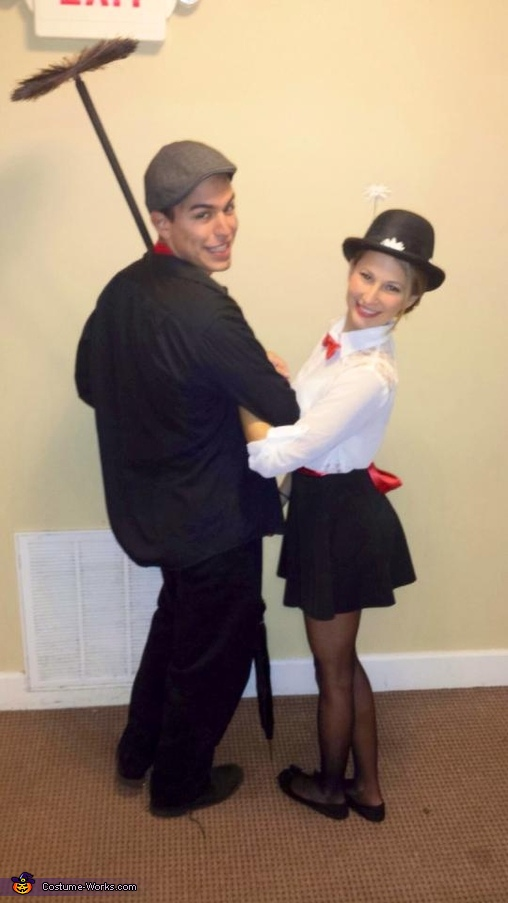 Mary Poppins and Bert, Mary Poppins and Bert Couples Costume
