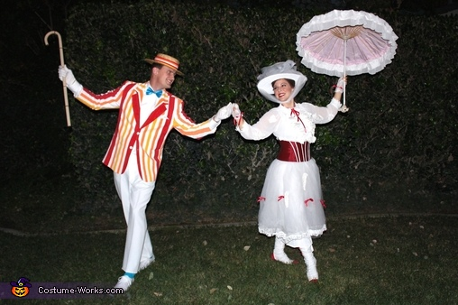 Mary Poppins and Bert Homemade Costume