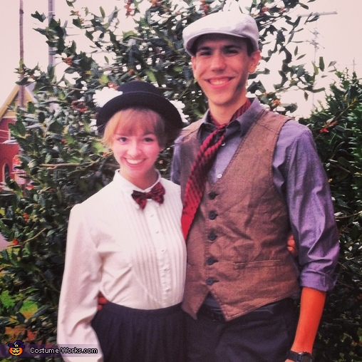 Mary Poppins and Bert Couple's Costume