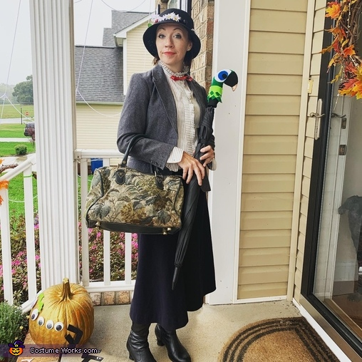 Practically Perfect in Every Way, Mary Poppins and Bert Costume
