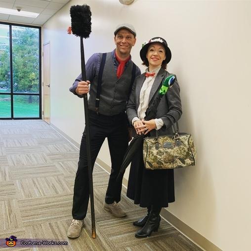 Mary & Bert, Mary Poppins and Bert Costume