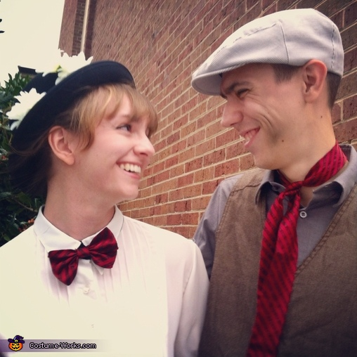 Together, Mary Poppins and Bert Couple's Costume