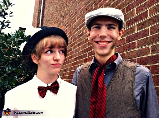 Another together, Mary Poppins and Bert Couple's Costume