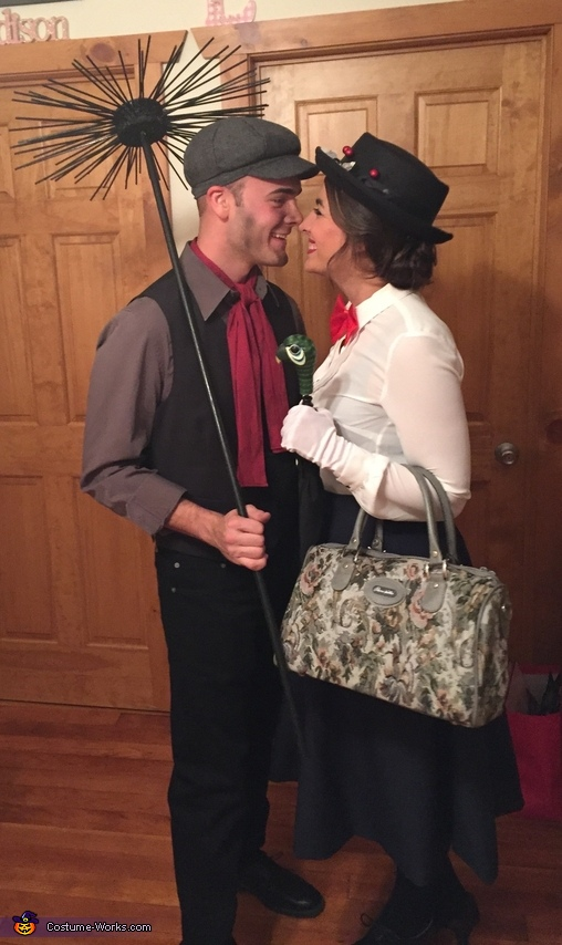 Mary Poppins and Bert Couple Costume