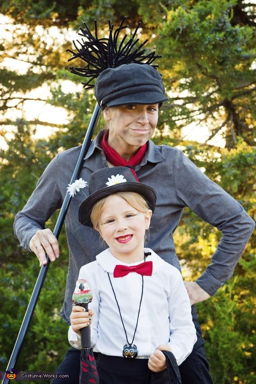 Mary Poppins and Bert the Chimney Sweep Costume