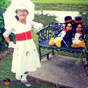 Mary Poppins and her Dancing Penguins Costume