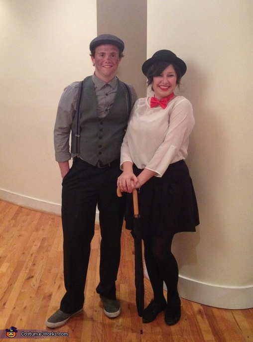 Mary Poppins and the Chimney Sweep Couples Costume