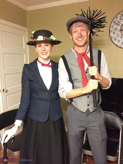 Mary Poppins & the Chimney Sweep Homemade Costume