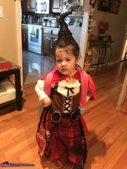 Mary Sanderson from Hocus Pocus Homemade Costume