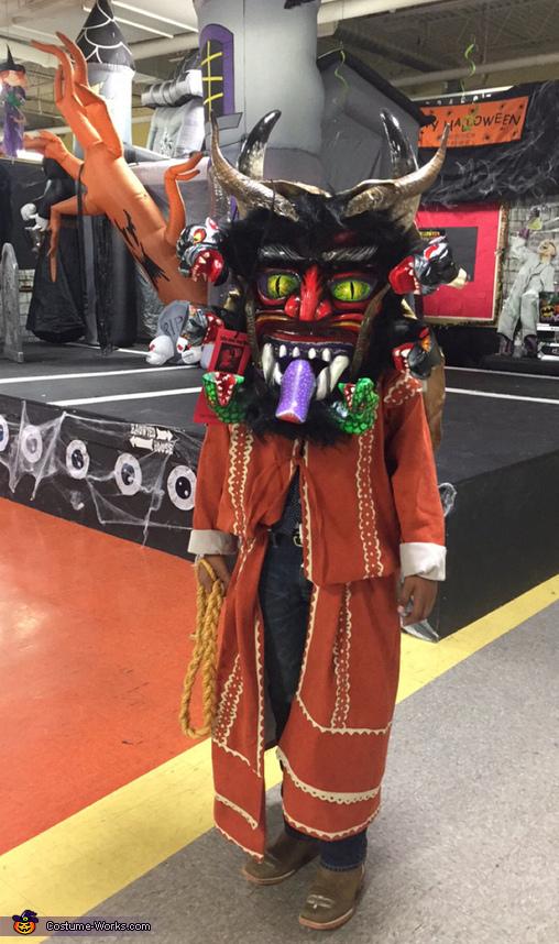 Mascara de Diablo Costume