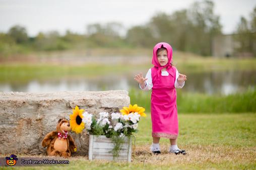 Masha and the Bear Homemade Costume