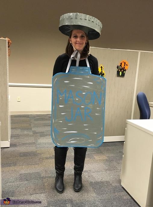 Diy Mason Jar Costume
