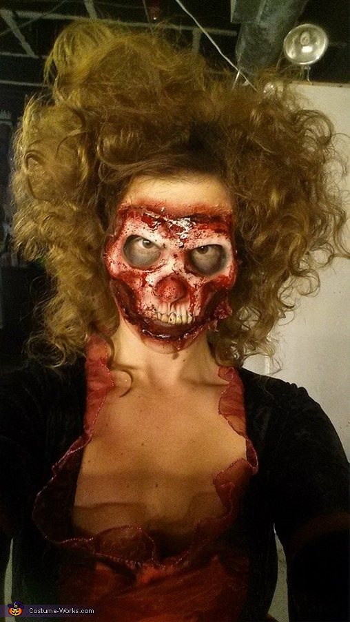 Homemade Masquerade Ball Costume