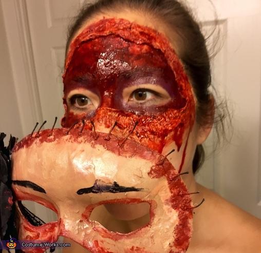 Close Up, Masquerade Massacre Costume