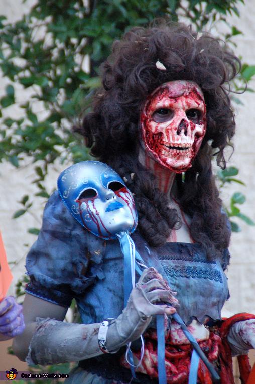 Masquerade Zombie Costume