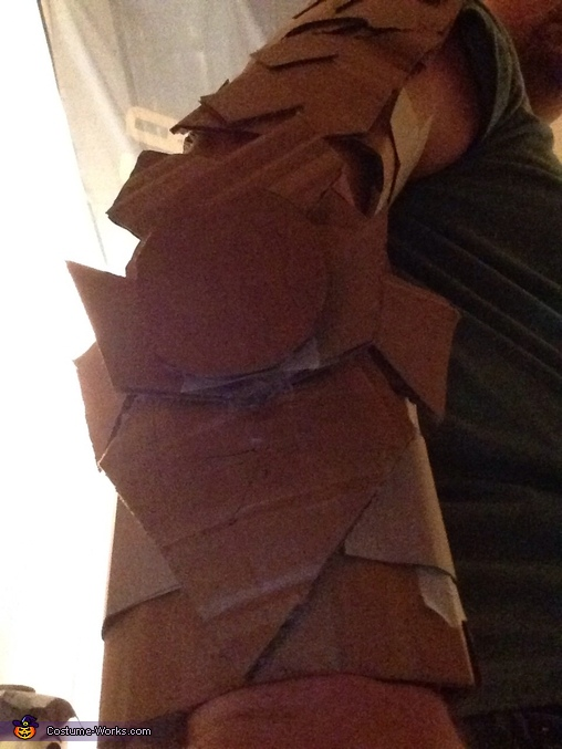 Arm details, Master Chief Costume