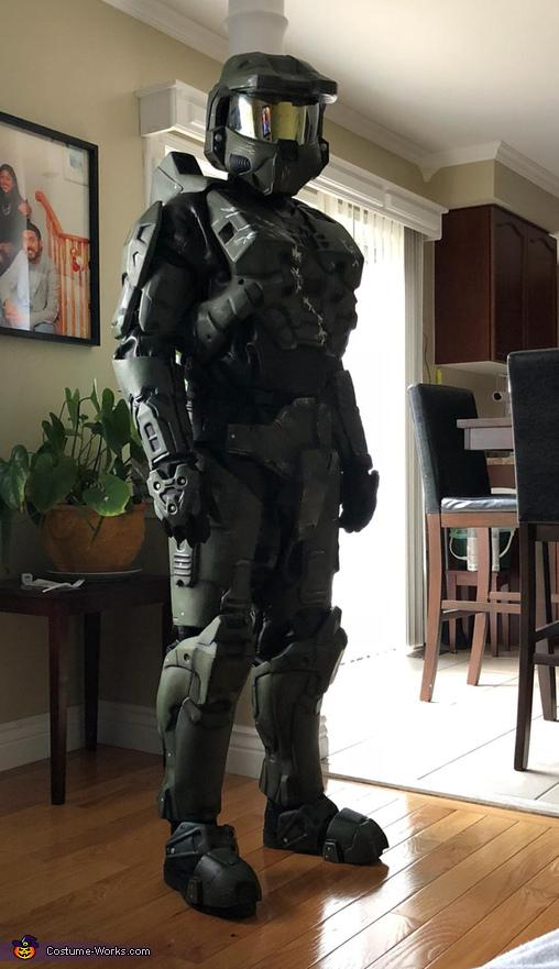 Master Chief Homemade Costume