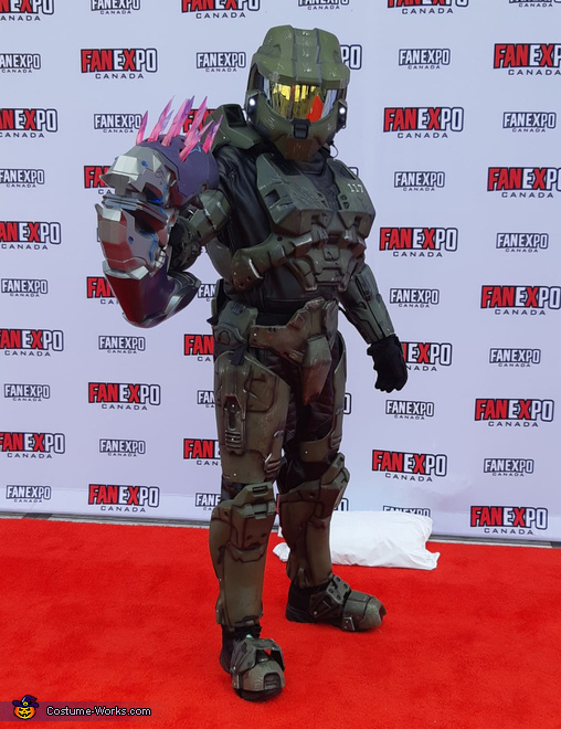 Master Chief Costume Diy Tutorial