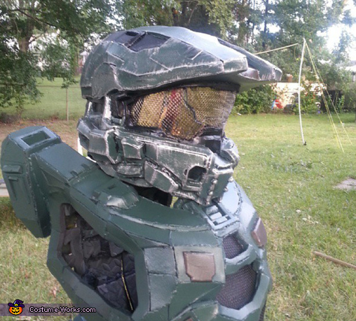 after paint, Master Chief Costume
