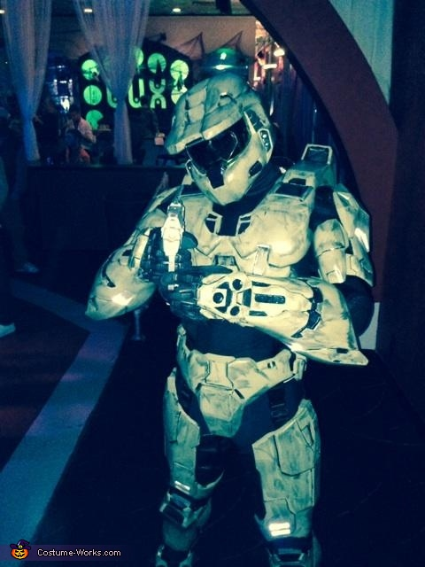 Master Chief Homemade Costume
