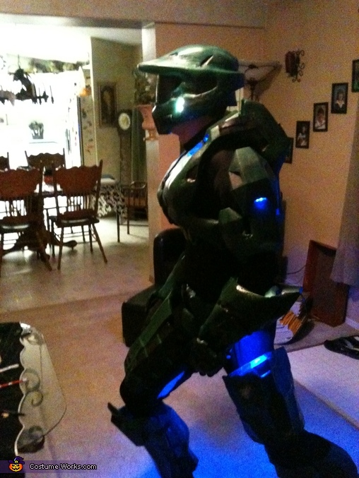 Master Chief Mark IV Homemade Costume