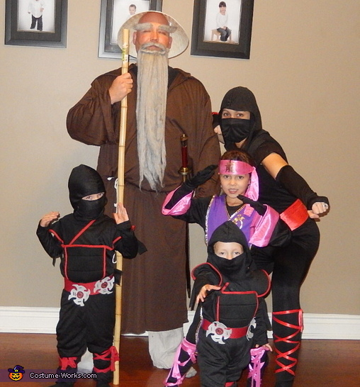 Master Luke and his Ninjas Costume