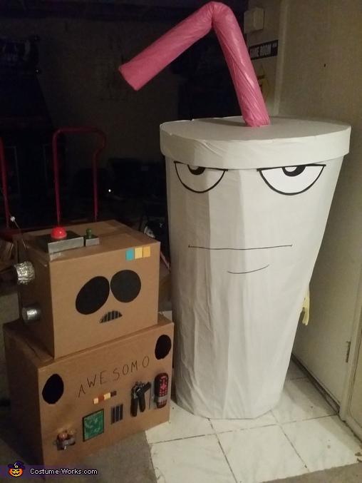 Master Shake Homemade Costume