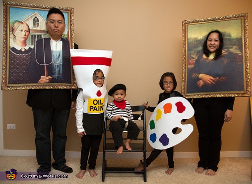Masterpiece Family Costume