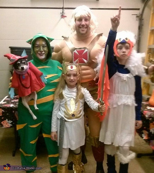 Masters of the Universe Family Costume