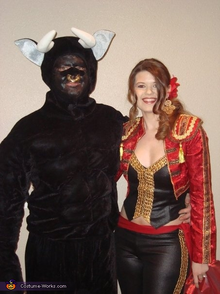 Matador and the Bull Couples Costume  sc 1 st  Costume Works & Matador and the Bull Couples Halloween Costume