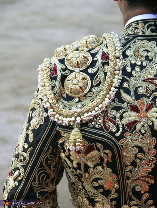 Source photo for matador costume, Matador, Bull, and Flamenco Dancer Costume