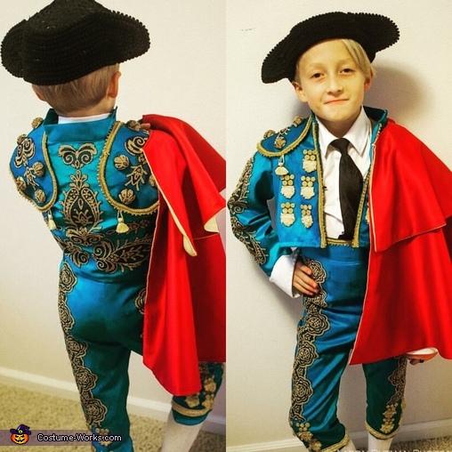 Matador, Bull, & Flamenco Dancer Homemade Costume