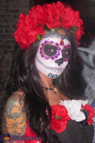 Kimberly, Dia De Los Muertos Costume