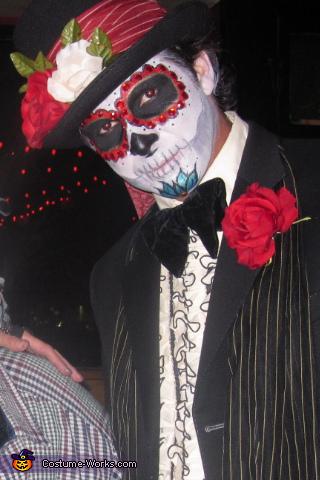 Mateo, Dia De Los Muertos Costume