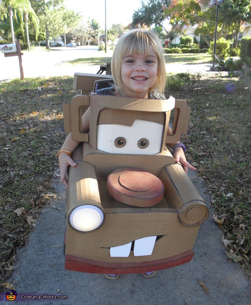 Mater the Tow Truck Homemade Costume